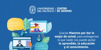 Feliz día del maestro idiomas Perú
