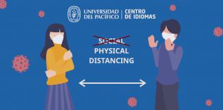 Distancia física o distancia social