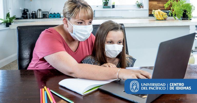 ¿Quién lleva la batuta en las clases virtuales?  ¿Se han trocado los padres en docentes?